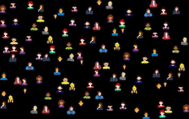 připojení lidí k síti
