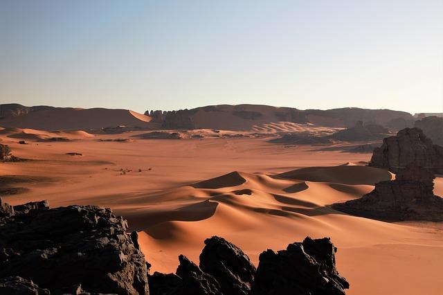 Alžírsko a příroda