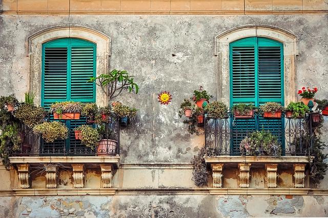 balkon rostliny